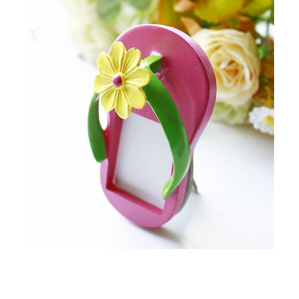 Classic/Lovely Shoes Design Resin Place Card Holders
