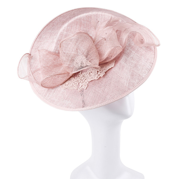 Dames Unique/Exquis/Accrocheur Batiste Chapeaux de type fascinator/Kentucky Derby Des Chapeaux/Chapeaux Tea Party