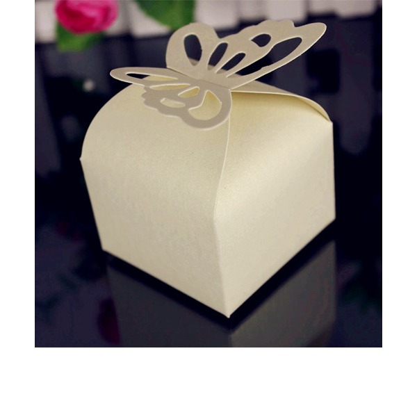 Butterfly Wedding Favor Box (Set of 12)