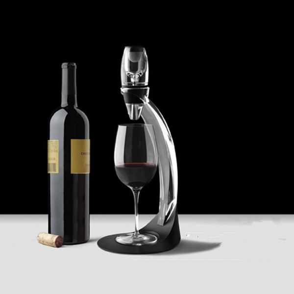 Decanter Akryl Enkle Elegant Bordblomster