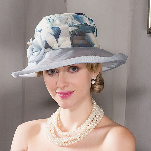 Ladies' Elegant/Simple/Nice Silk Beach/Sun Hats