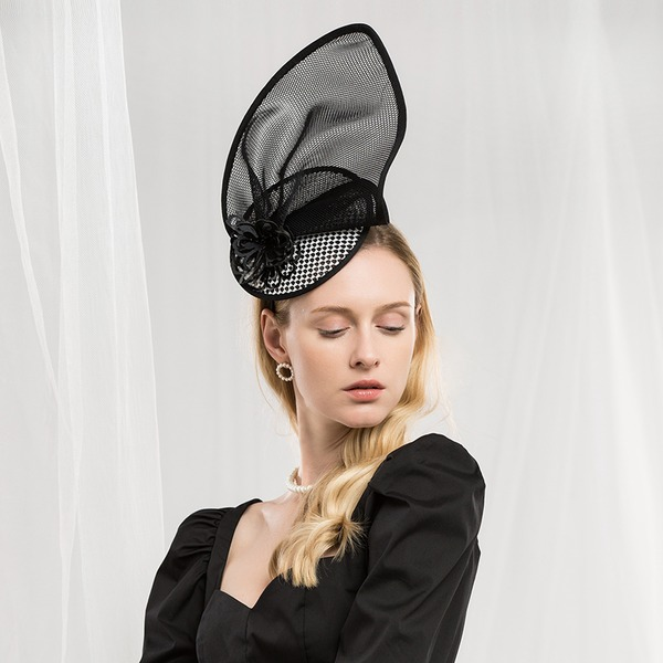 Damer' Mode/Glamorösa/Elegant polyester Fascinators
