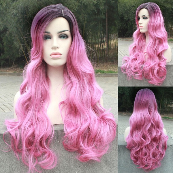Loose Wavy Synthetic Hair Capless Wigs Cosplay/Trendy Wigs 320g