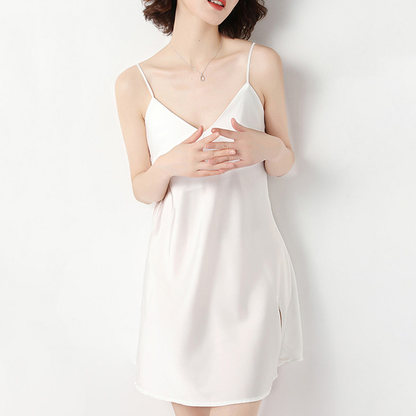 Bridal/Feminine Low-key Polyester Backless Sleepwear/Bridal Lingerie