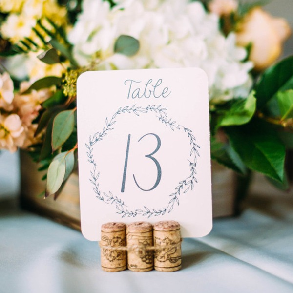 Place Cards Paper Personalized (Set of 10) Nice Table Centerpieces