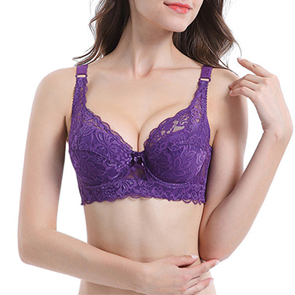Fancy Chinlon/Nylon Underwire Bra