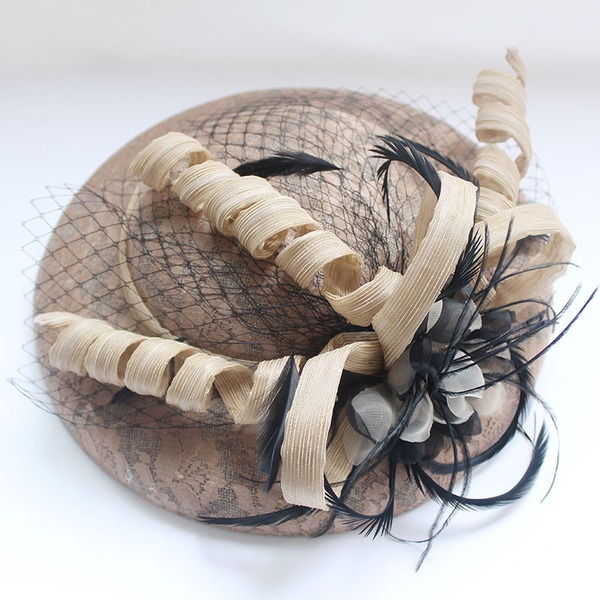 Dames Mooi/Prachtige/Mode Netto garen Fascinators