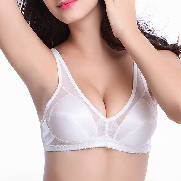 Refined Polyester Wireless/Bralette Bra