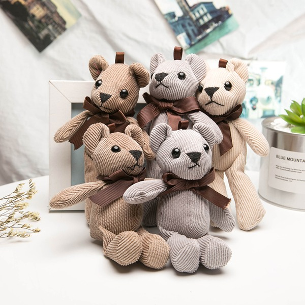 Lovely Cute Bear Plush Creative Gifts (Set of 12)