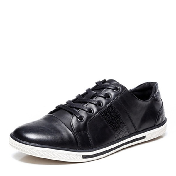 Men's Leatherette Lace-up Casual Men's Oxfords