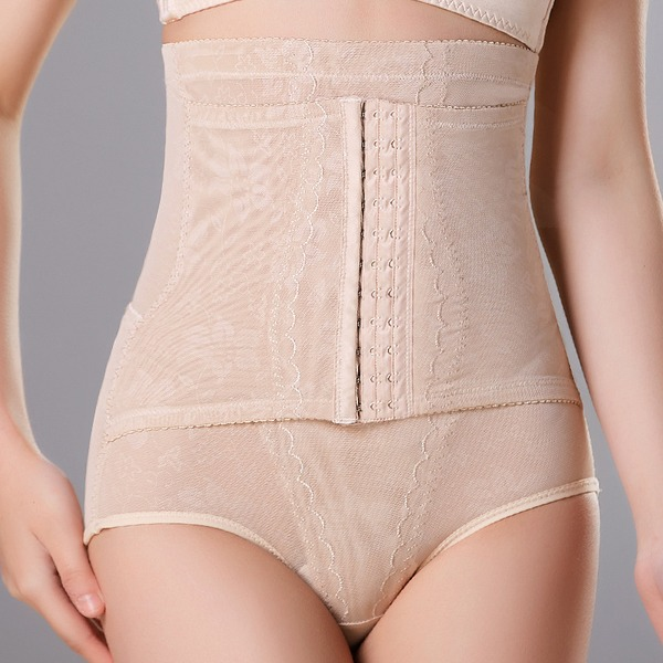 Women Feminine/Sexy/Charming Chinlon/Nylon Butt Lift Waist Cinchers With Lace/Printing Shapewear