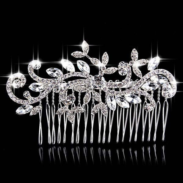 Beautiful Rhinestone/Alloy Combs & Barrettes