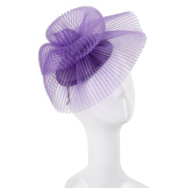 Damer' Unik/Utsökt/Iögonfallande Batist Fascinators/Kentucky Derby Hattar