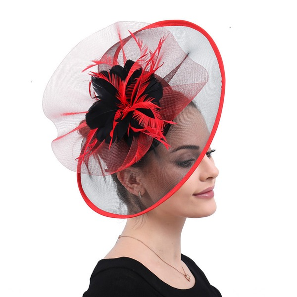 Ladies' Handmade/Hottest Cambric With Silk Flower Fascinators/Kentucky Derby Hats