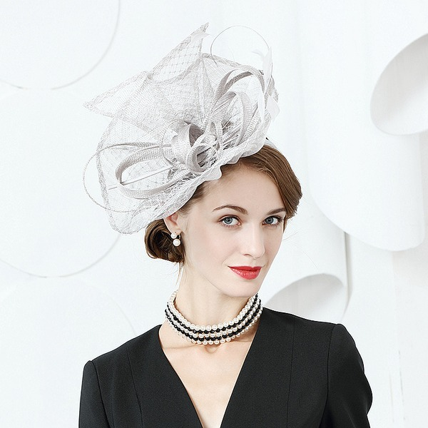 Ladies' Fashion/Elegant/Romantic/Vintage/Artistic Cambric With Imitation Butterfly Fascinators