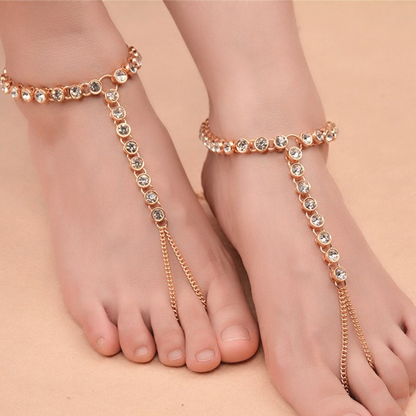 Alloy With Imitation Crystal Women's Body Jewelry (Sold in a single piece)