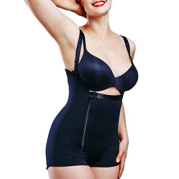 Women Sexy Polyester/Cotton/Chinlon High Waist Bodysuit Shapewear