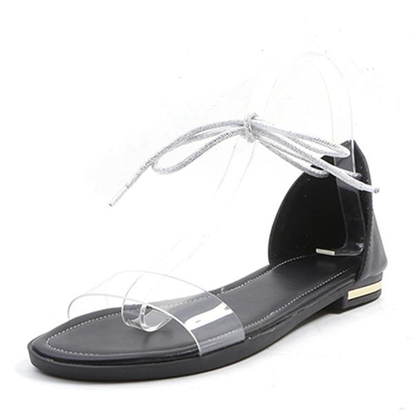 Kvinnor Flat Heel Sandaler Platta Skor / Fritidsskor skor