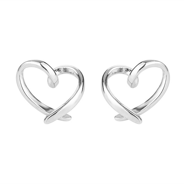 Ladies' Nice 925 Sterling Silver Earrings For Friends/For Her