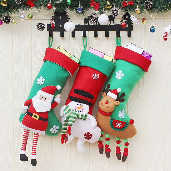 Christmas Cloth Home Décor (Sold in a single)