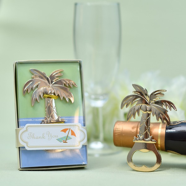 Creative Coconut Tree Design Zinc alloy Bottle Openers (Sold in a single piece)