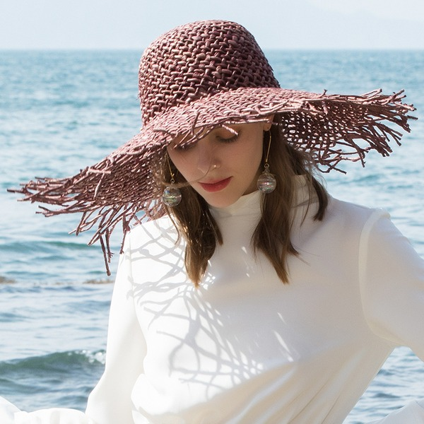 Ladies' Glamourous/Classic/Elegant/Romantic Beach/Sun Hats