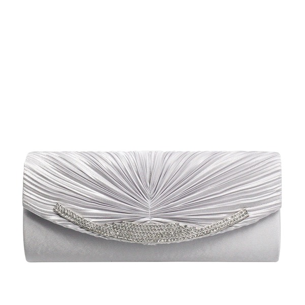 Elegant Satin/Silk Clutches/Luxury Clutches